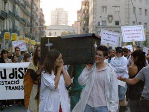 primera manifestación de lucha trans, transgénero e intersexual!3