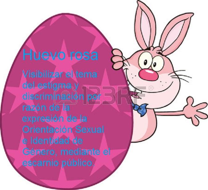 huevo rosa