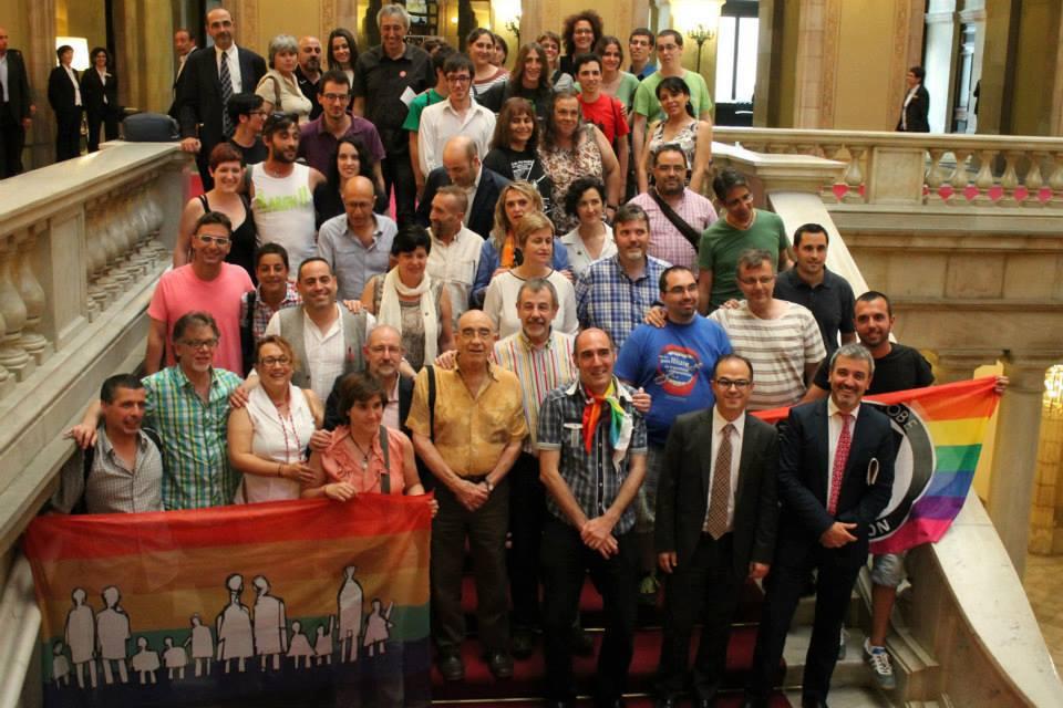 entitats LGTB parlament 2013