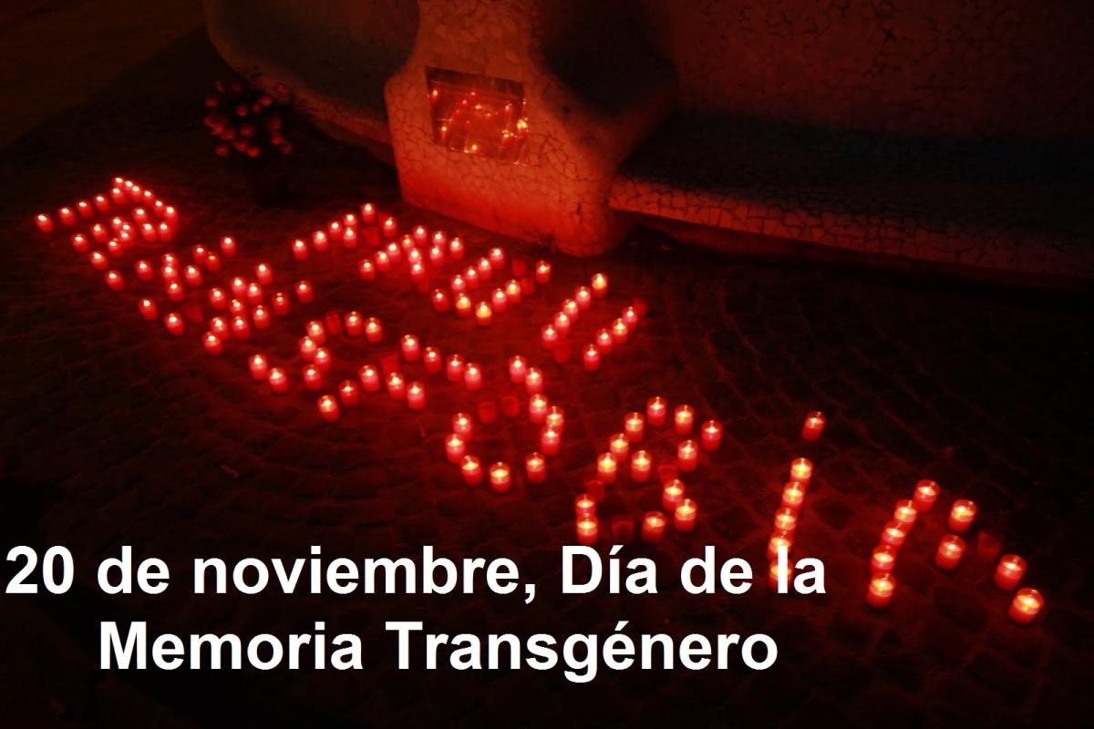20 NOVIEMBRE DÍA INTERNACIONAL DE LA MEMORIA TRANS – transexualidad: ATC  llibertat